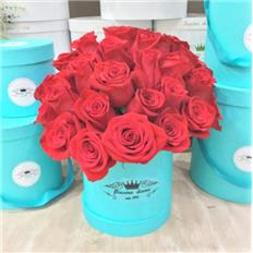 Grande box Tiffany Red Rose