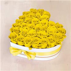 Heart Deluxe box Yellow