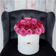 Medium box  Duo Pink Roses